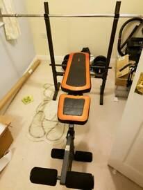 Weider Weights Workout Gym Bench