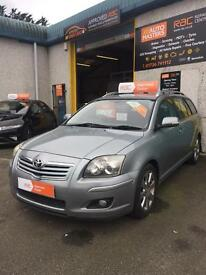 Toyota avensis estate 2008 d4d sat nav tow bar air con rac warranty finance no deposit