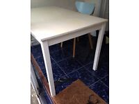 FREE - Table & Chair - Must collect by Tuesday 25th October 1PM at the latest.