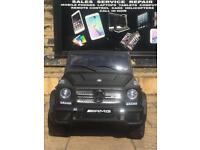 Mercedes G65, Black Or White, Parental Remote & Self Drive,