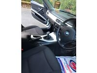 BMW 318d premium colour white