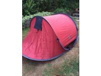 Eurohike Flash pop up 2 man tent