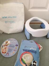 Potette travel potty and seat