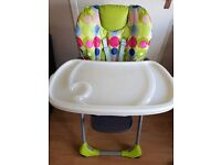 Baby high chair gender neutral. £40 ono Excellent condition