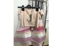 COAST TOP AND SKIRT Brand new with tags never worn. Size 16. £60 for set.