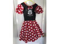 Disney World Minnie Mouse Dress Age 6-8