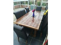 Barker and Stonehouse solid wood table