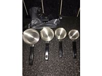 COFFEE POTS/PANS ( SET OF 4 )