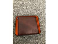 Superdry Brown Leather Wallet used twice.