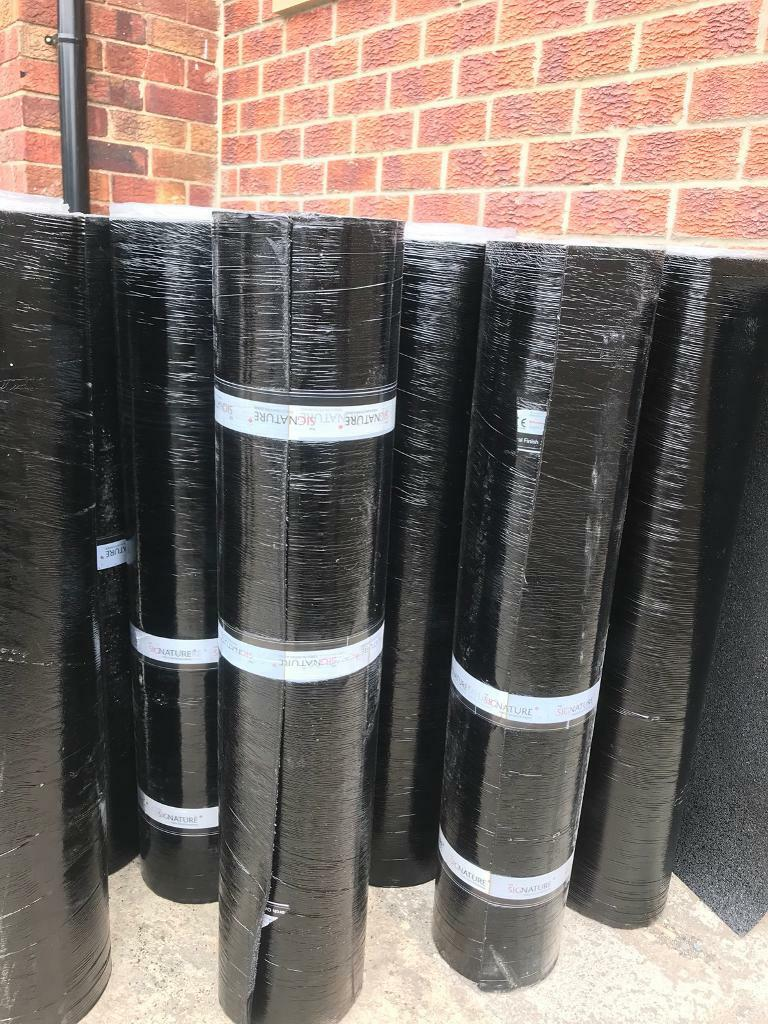 Brand New Green Mineral Black Mineral Felt Torch On Felt Roll 12m x 1m Capsheetin Allerton, West Yorkshire - Brand New Green Mineral And Black Mineral Felt Torch On Felt Roll. Very High Quality. Base Felt also available