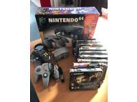 Nintendo 64 (retro gaming / boxed)