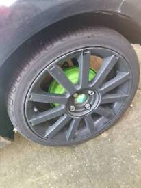 St alloys with no tyres