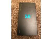 Samsung S8 Black 64GB Unlocked *BRAND NEW*