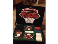 Poker and dice games gift set