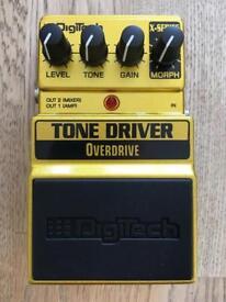 Digitech X-Series tone Driver Overdrive Guitar Pedal Brand New
