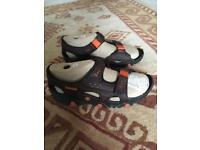 Timberland Leather sandals size 11 brand new