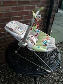 Fisher price rock and vibrate baby chair