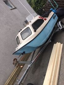 Shetland Cathedral Hull 735 Sea fishing boat. NOW SOLD