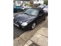 MG Convertible 2001 one previous owner