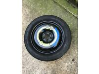 Space saver spare wheel mercedes