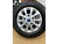 Alloy wheels and tyres sold
