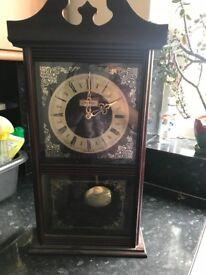 Vintage chiming clock
