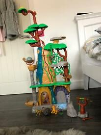 Lion Guard Training Lair Playset