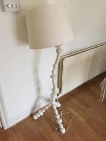Design white floor lamp