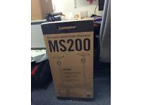 Samson MS200 Studio Monitor Speaker Stands (Brand New Pair cost over £60)