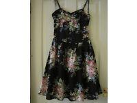Warehouse 50s style cotton dress