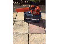 👀new husqvarna professional chainsaw