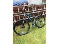 Fuji hard tail mountain bike