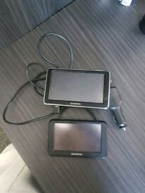 2x Garmin Navigation systems