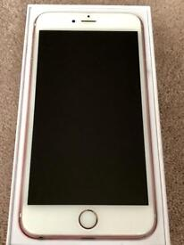 IPHONE 6S PLUS 16gb ROSE GOLD ON VODAFONE, BOXED IN GOOD CONDITION, MAY SWAP