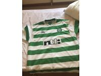 Celtic vintage shirt xl new cond from 99/00 season Umbro ntl £7 to clear thanks first to see will