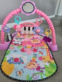 Fisher price kick and play piano baby gym