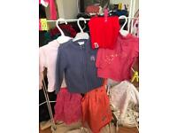 £5 for 40 0-3 baby girl clothes