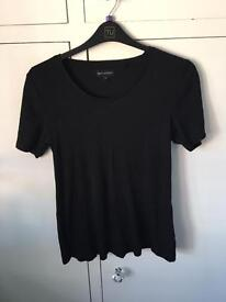 Next maternity black tshirt size 14