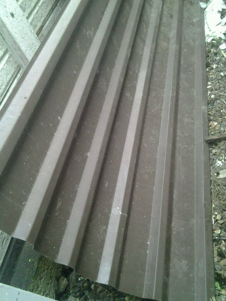 Brown plastic coated steel anti condensation roof sheets