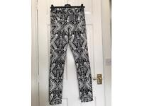 H&M Aztec jeans