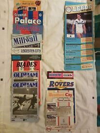 Leeds United Football Programmes - Away + Home 1987-88
