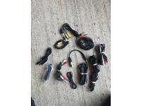 Audio cables- mixed bag