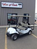 2012 Yamaha with 4 Passenger Flip Seat Golf Car