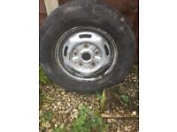 Transit spare wheel and tyre 215 /75r/16