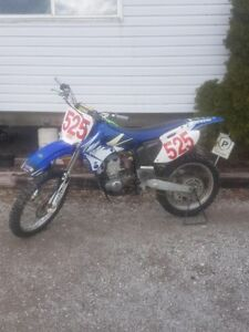 Yz426f and ttr125 father son bikes.