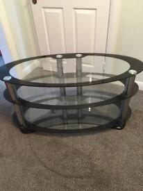 Oval TV Stand