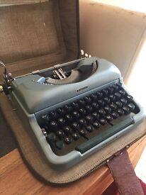 Antique 1960's Typewriter