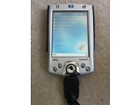 HP iPaq h2210 Pocket PC / PDA - free modem, screen protector and 2 stylus