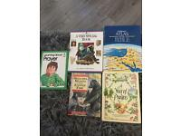 5 hardback children's bible prayer books
