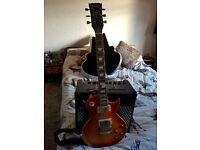 v100 Icon Cherry Blossom Guitar - £160